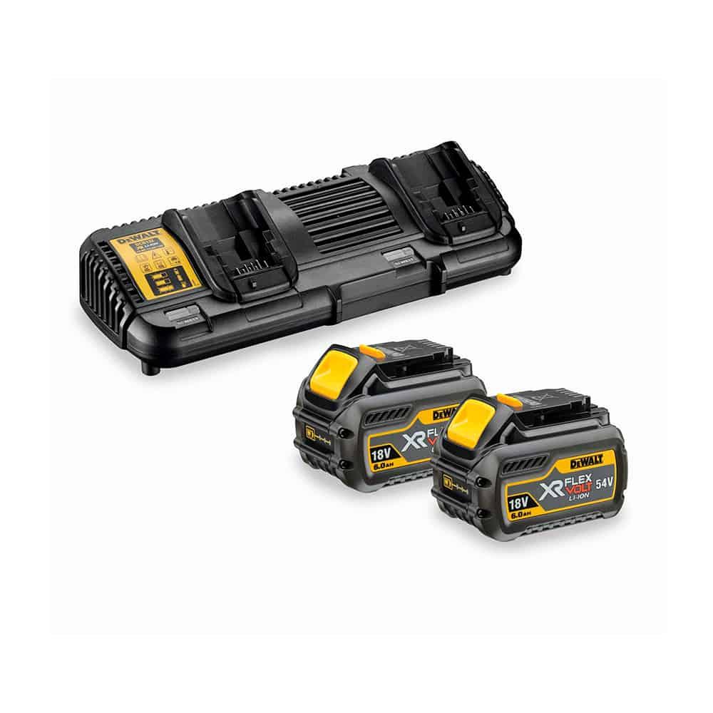 Kit 2 Baterías carril XR Flexvolt Dewalt DCB132T2-QW